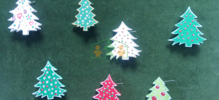 Broches navideños
