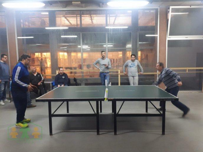 1° Torneo navideño de ping pong