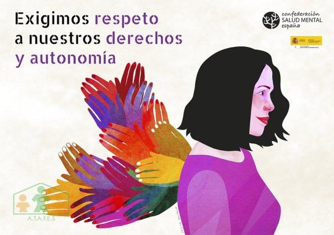 Campaña Red Estatal de Mujeres de SALUD MENTAL ESPAÑA