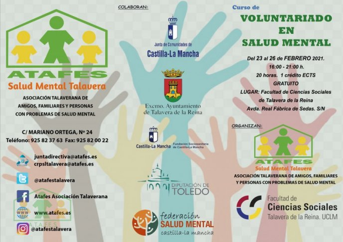 CURSO DE VOLUNTARIADO EN SALUD MENTAL 2021