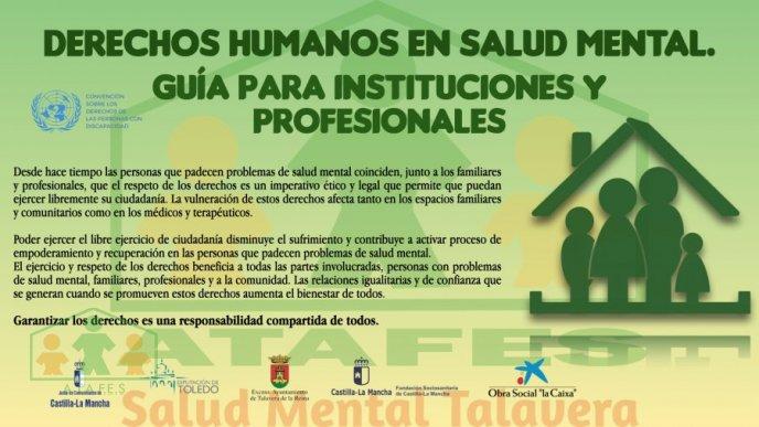DERECHOS HUMANOS EN SALUD MENTAL. GUÍA INSTITUCIONES Y PROFESIONALES
