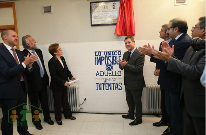Emiliano García-Page inaugura el Centro de rehabilitación