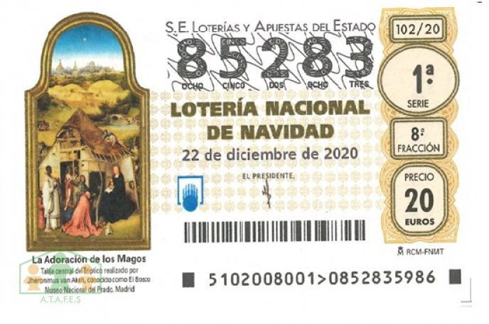 LOTERIA DE NAVIDAD DE ATAFES