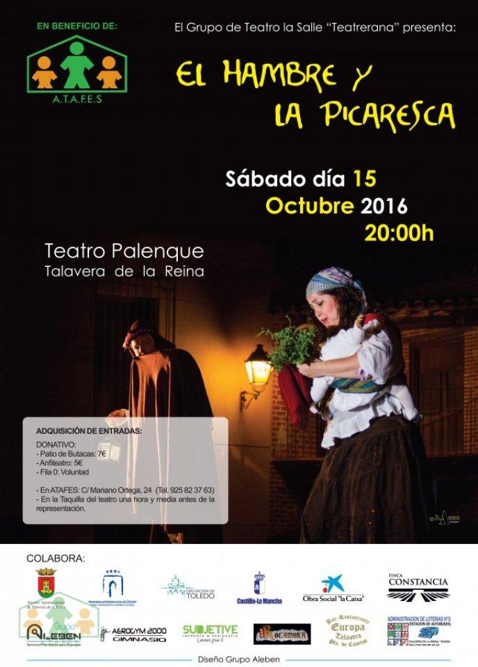 Teatro El Hambre y la Picaresca en Beneficio de ATAFES
