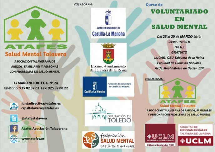 Curso de Voluntariado en Salud Mental