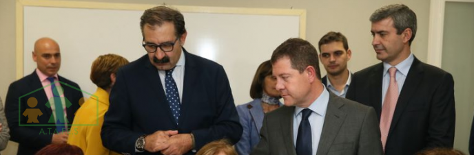 García-Page inaugura la nueva sede de A.T.A.F.E.S.