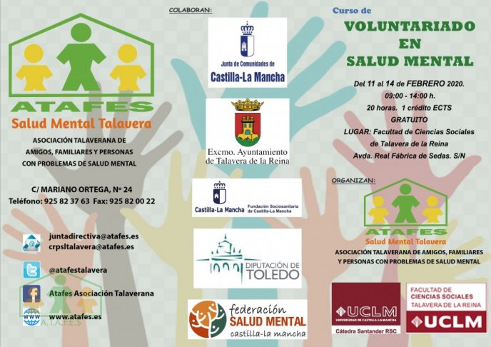 Noticia Curso de Voluntariado en Salud Mental