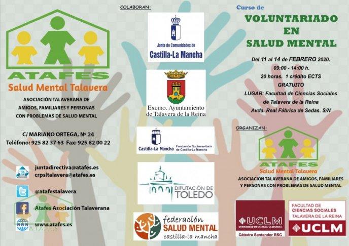 Noticia Curso de Voluntariado en Salud Mental