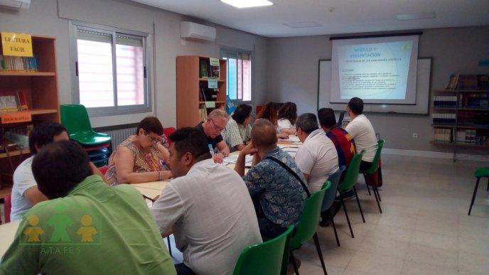 taller de 'Habilidades personales y sociales' de ATAFES